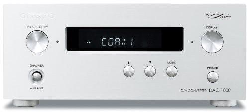 素晴らしい価格 ONKYO D/Aコンバーター DAC ハイレゾ音源対応 シルバー DAC-1000(S)(品), パウワウRT代官山 1d8d75de
