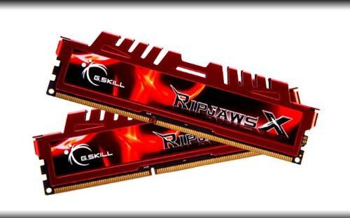 新しく着き CL9(品) G.Skill F3-10666CL9D-16GBXL DDR3-1333 16GB(8GB*2枚組)KIT-その他パソコン・PC周辺機器