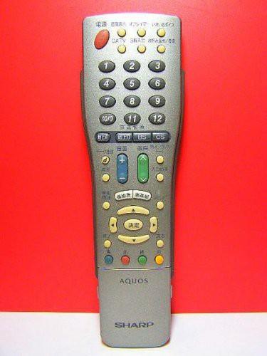 シャープ テレビリモコン GA366WJSA(品)