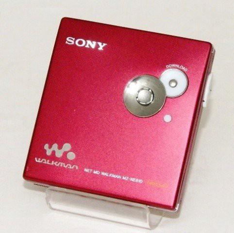 日本製 SONY ソニー MZ-NE810(-R)レッド Net MD対応ポータブルMDウォークマン(品), 肱川町:e06a06b4 --- chevron9.de