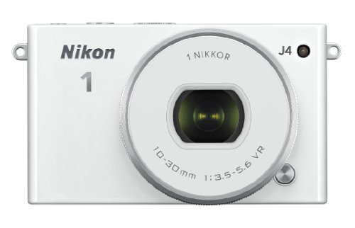 お待たせ! NIKKOR MP with Lens - Nikon 10-30mm J4 Camera White(品) Digital 18.4-カメラ