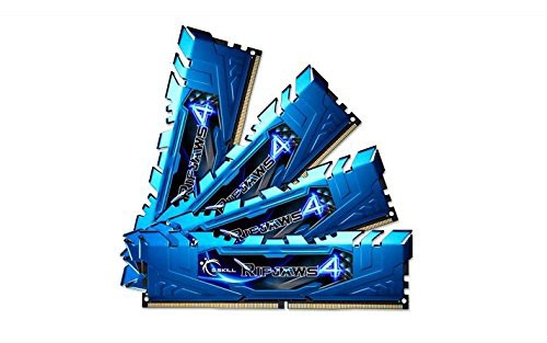 【はこぽす対応商品】 G。Skill 4DDR4 CL15 クアッドチャネルキ(品) 2400MHz Ripjaws 32 GB PC4?19200-その他パソコン・PC周辺機器