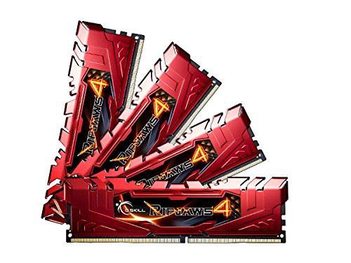 【気質アップ】 (DDR4-2666 G.Skill F4-2666C15Q-16GRR CL15 4GB×4)(品)-その他パソコン・PC周辺機器