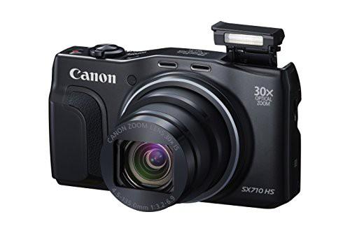 豪華 PowerShot SX710 (Black)(品) Canon HS-カメラ