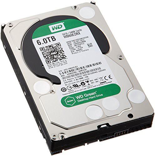 当店の記念日 WD Hard SATA Green 64 6TB (品) Drive: 3.5-inch Gb/s 6 Desktop IntelliPower-その他パソコン・PC周辺機器