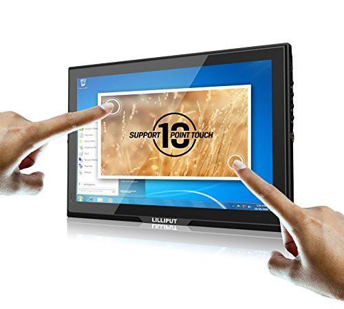 直送商品 FA1014-NP/C/T capacitive Monitor 16:9 HDMI with LILLIPUT IPS tou(品) 10.1