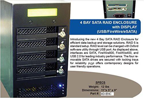 【値下げ】 2t容量(品) オックスフォードRaidデスクトップストレージエンクロージャwith-その他パソコン・PC周辺機器