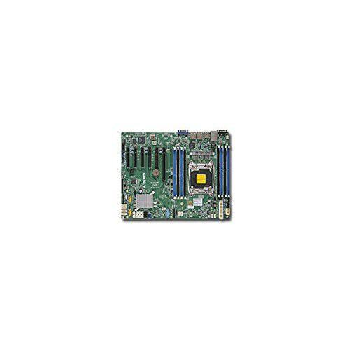最高級のスーパー DDR4/ SATA3&USB3.0/ X10SRI-F-B LGA2011/ C612/ Supermicro V&2GbE/(品) Intel-その他パソコン・PC周辺機器