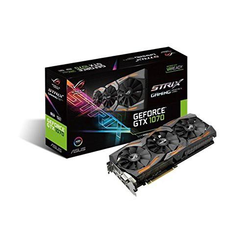 1着でも送料無料 Express 1070 PCI ASUS GTX ROG 8GB GDDR5 8GB STRIX 256-Bit 3.0 (品) GeForce-その他パソコン・PC周辺機器