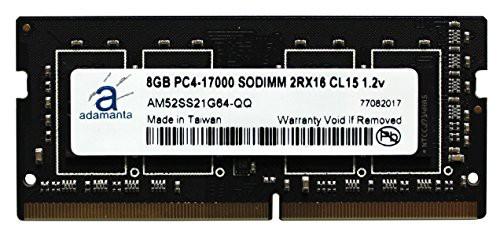 熱い販売 (品) 8gb Adamanta )ノートPCメモリアップグレードfor MSI gl62?6qf 1?x 8?GB (-その他パソコン・PC周辺機器