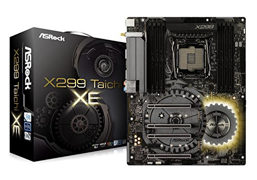 最新な X299 Intel Taichi ASRock チップセット搭載 X299 ATX マザーボード XE(品)-その他パソコン・PC周辺機器