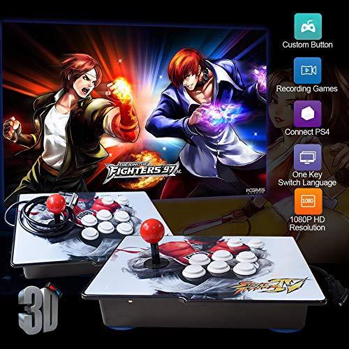 2019人気特価 アーケードゲームコンソール 2D キング(品) in XFUNY 1080P ゲーム & 3D 2020 1-その他家電