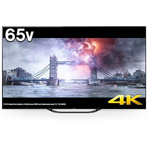 【税込】 ソニー 65V型 地上・BS・110度CSデジタル4K対応テレビ(別売U(品) 有機ELパネル-その他家電