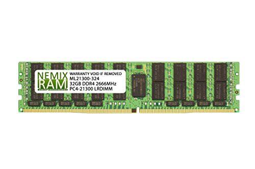 【驚きの値段】 DDR4-2666 NEMIX Intel LRDIMM HNS2600TP24SR用(品) 2Rx4 RAM 32GB-その他パソコン・PC周辺機器