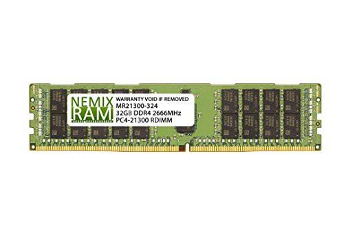 爆買い! 2Rx4 NEMIX RAM 32GB Intel DDR4-2666 RDIMM HNS2600BPB用(品)-その他パソコン・PC周辺機器