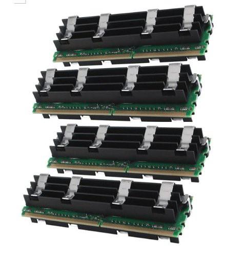 愛用 4?GB for Fully Ma(新古未使用品) ddr2???800?ECC (4?x 1gb) DIMM Buffered Apple Gigaram-その他パソコン・PC周辺機器