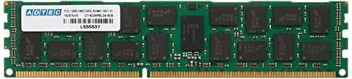 良質  DR サーバー用 DDR3-1333 16GBx2枚組 アドテック RDIMM ADS10600D-R16GDW(新古未使用品)-その他パソコン・PC周辺機器
