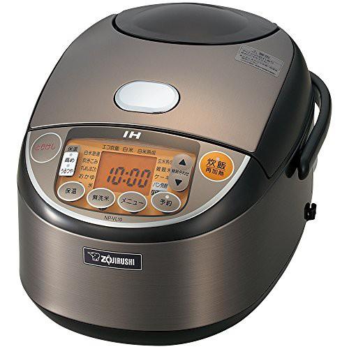 【爆売り!】 NP-VL10-TD(未開封 象印 未使用の新古品) IH炊飯器5.5合 ステンレス-キッチン家電