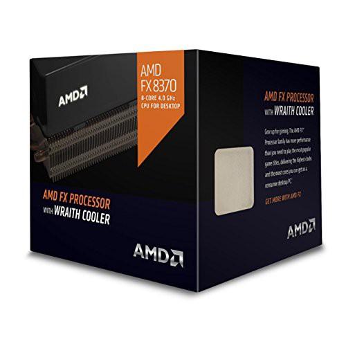 数量は多 8370 +、クロック4 AMD FX WRAITHクーラーエディションCPU(8コア、AM3 GHz(新古未使用品)-その他パソコン・PC周辺機器