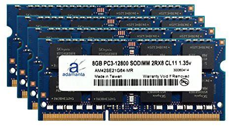 公式の  32?GB 8gb Adamanta ( Dell )ノートPCメモリアップグレードfor 4?x Precisi(新古未使用品)-その他パソコン・PC周辺機器