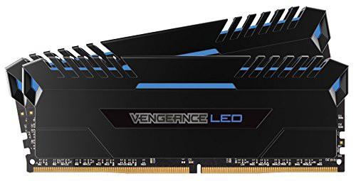 【即納】 MM3(新古未使用品) CORSAIR (16GBx2) 32GB Blue 288pin UDIMM DDR4 Vengeance 3000Mhz LED-その他パソコン・PC周辺機器