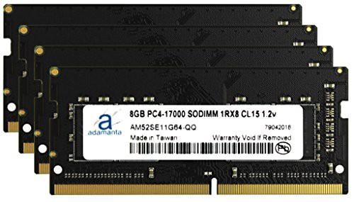 割引発見 ノートパソコンメモリーアップグレード Adamanta 32GB Predat(新古未使用品) (4x8GB) Acer-その他パソコン・PC周辺機器