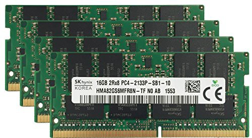 買い保障できる ラップトップメモリアップグレード オリジナル (4x16GB) Acer P(新古未使用品) Hynix 64GB-その他パソコン・PC周辺機器
