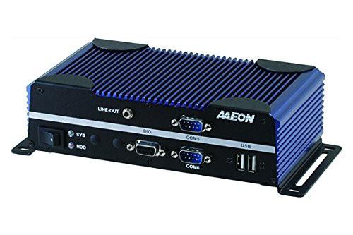 見事な創造力 Intel AAEON DC9~32V(新古未使用品) N3710搭載COM×6ポート ファンレス産業用小型組込みPC-その他家電