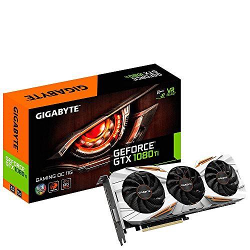 ファッションなデザイン GTX Video(新古未使用品) Gaming TI Board Gigabyte 1080 Graphic NVIDIA GeForce 11gb OC-その他パソコン・PC周辺機器