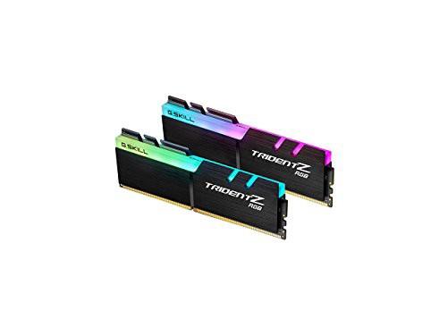 超安い 2400MHzデスクトップメモ(新古未使用品) G.SKILL TridentZ RGBシリーズ32GB(2x16GB)DDR4-その他パソコン・PC周辺機器