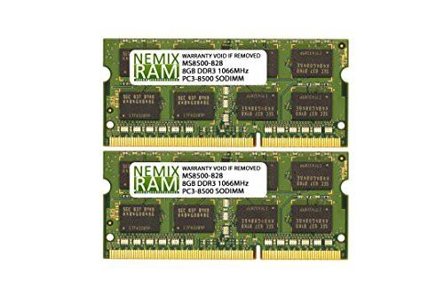ファッションの Apple ddr3?1066?MHz (2?x Mac 16?GB pc3???8500?SO 8?GB) DIMM Mini for 2(新古未使用品)-その他パソコン・PC周辺機器
