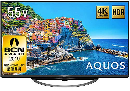 【初回限定お試し価格】 シャープ 55V型 液晶 AQUOS テレビ AQUOS 4T-C55AJ1 4K シャープ Android TV Android 回転式スタン (未開封 未使用の新古品), イズシグン:7f47b024 --- kzdic.de