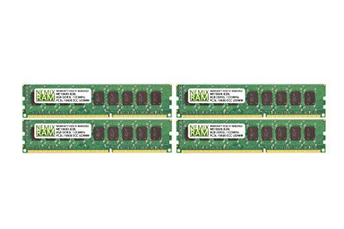 最安値級価格 32GB (4x8GB) DDR3-1333MHz PC3-10600 ECC ECC 1.35V UDIMM 2Rx8 1.35V (4x8GB) Unbuffered Me(新古未使用品), ミカワチョウ:1749b91c --- net-fair.de