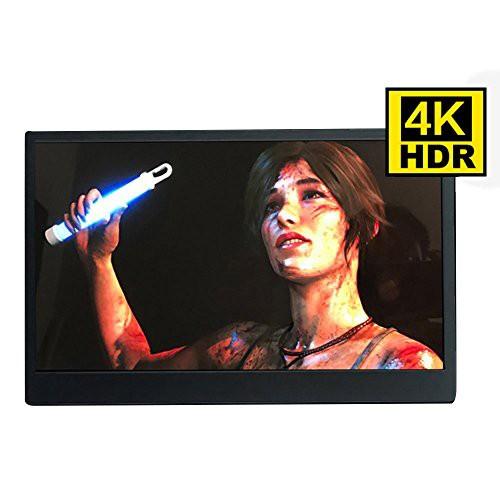 【★大感謝セール】 4K HDR機能を支持 13.3インチ PS4/xbox360 モバイルモニター 対 (新古未使用品) HHHYa IPS-その他パソコン・PC周辺機器