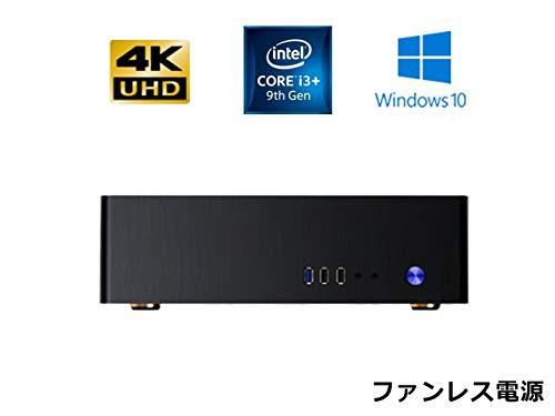 2019年最新海外 NVMe SSD 480GB (新古未使用品) Office M.2 TM130 Core Windows10PRO SlimPc メモリ4GB i3-その他家電