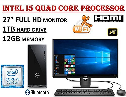 【70%OFF】 Dell Inspiron 3668 27 Full Intel 27 HD i3668 Dell Desktop Bundle ~ 7th Gen. Intel Co(新古未使用品), 東和町:6f4e4200 --- kzdic.de