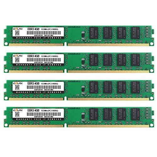 最終値下げ ICOOLAX 16GB キット LONGDIMM (4 16GB X 4GB) 4GB) 1333MHz LONGDIMM DDR3 PC3-10600 2RX8 CL9(新古未使用品), インテリアワークス:0e3c36e0 --- stobbe-d-verlag.de