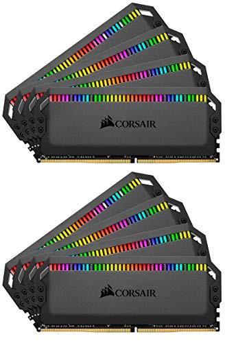 高級品市場 デスクトップPC用 シ(新古未使用品) CORSAIR DDR4-3200MHz PLATINUM RGB メモリ DOMINATOR-その他パソコン・PC周辺機器
