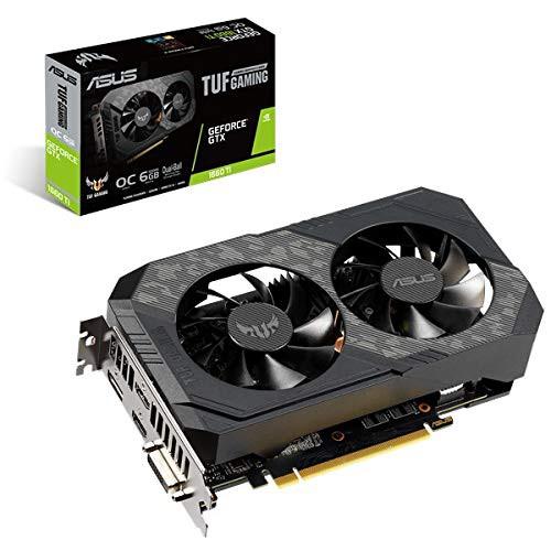 割引価格 6 GTX GDDR6(新古未使用品) GeForce Ti 1660 ASUS GB TUF-GTX1660TI-O6G-GAMING-その他パソコン・PC周辺機器