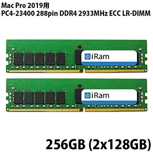 値頃 PC4-23400 288pin iRam Mac R-DIMM 2019用メモリー 2933MHz ECC DDR4 Pro ((新古未使用品)-その他パソコン・PC周辺機器