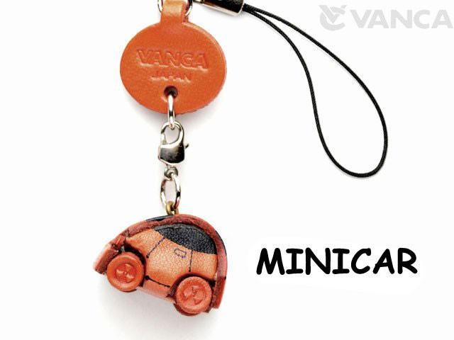 ミニカー(グッズ) 携帯ストラップレザー 本革 VANCA/バンカクラフト革物語 40912