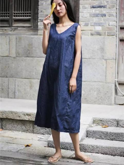 デニムスカート マタニティ ワンピース ジャンパースカート サロペット スカート デニム ワンピース 森ガールの服 通販