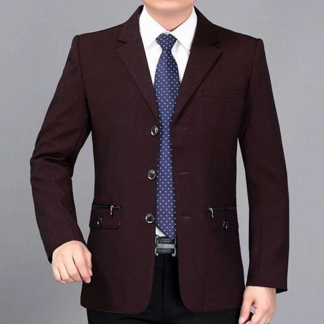 a75b03a9643f8 テーラードジャケット メンズ スーツ 紳士 ビジネス ブレザー トップス フォーマル カジュアル
