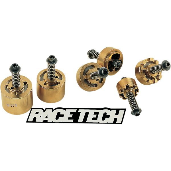 【ネット限定】 レーステック RACE TECH ゴールドバルブ フォークキット 92年-12年 ホンダ、カワサキ、スズキ WO店, 釣鐘屋本舗 d41d8cd9