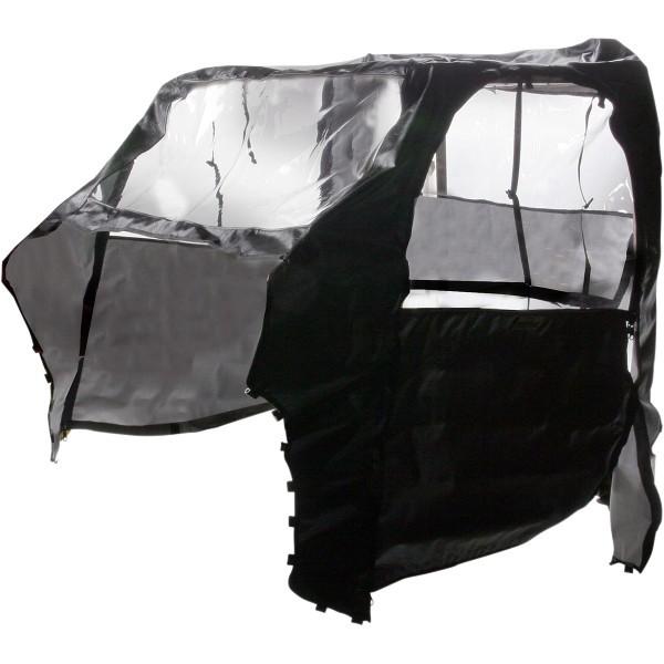 【超ポイント祭?期間限定】 ムース MOOSE Utility Division フル キャビン 08年-10年 ポラリス Ranger 800 RZR 黒 WO店, すりーむ d306faca