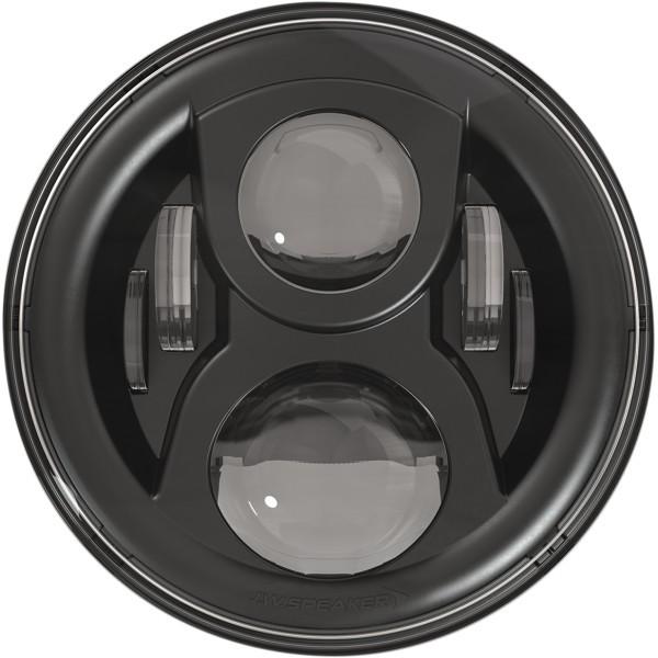 【信頼】 JWスピーカー J.W. Speaker LED ヘッドライト 7インチ EVO2 デュアルバーン 8700 リング無し 黒 WO店, 能登 カネヨ醤油 0926962a
