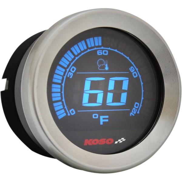 【人気急上昇】 コソ KOSO 温度計 2インチ(51mm) 04年-13年 クローム WO店, 環境対応フィルムプラザ b9071dc3