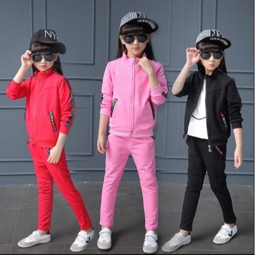 ad30fc8e0201d 子供服 おしゃれ ジャージ ジュニア 女の子 上下セット スウェット 長袖 セットアップ キッズ ダンスウェア ステージ 衣装