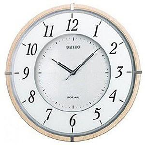 世界の セイコー ソーラー電波掛け時計「ソーラープラス」 SF501B, Zakcafe d287e050