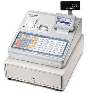 数量限定セール  シャープ 電子レジスター(フラットキーボードタイプ) XE-A417-W (ホワイト), フィガロ 9d3b21a7
